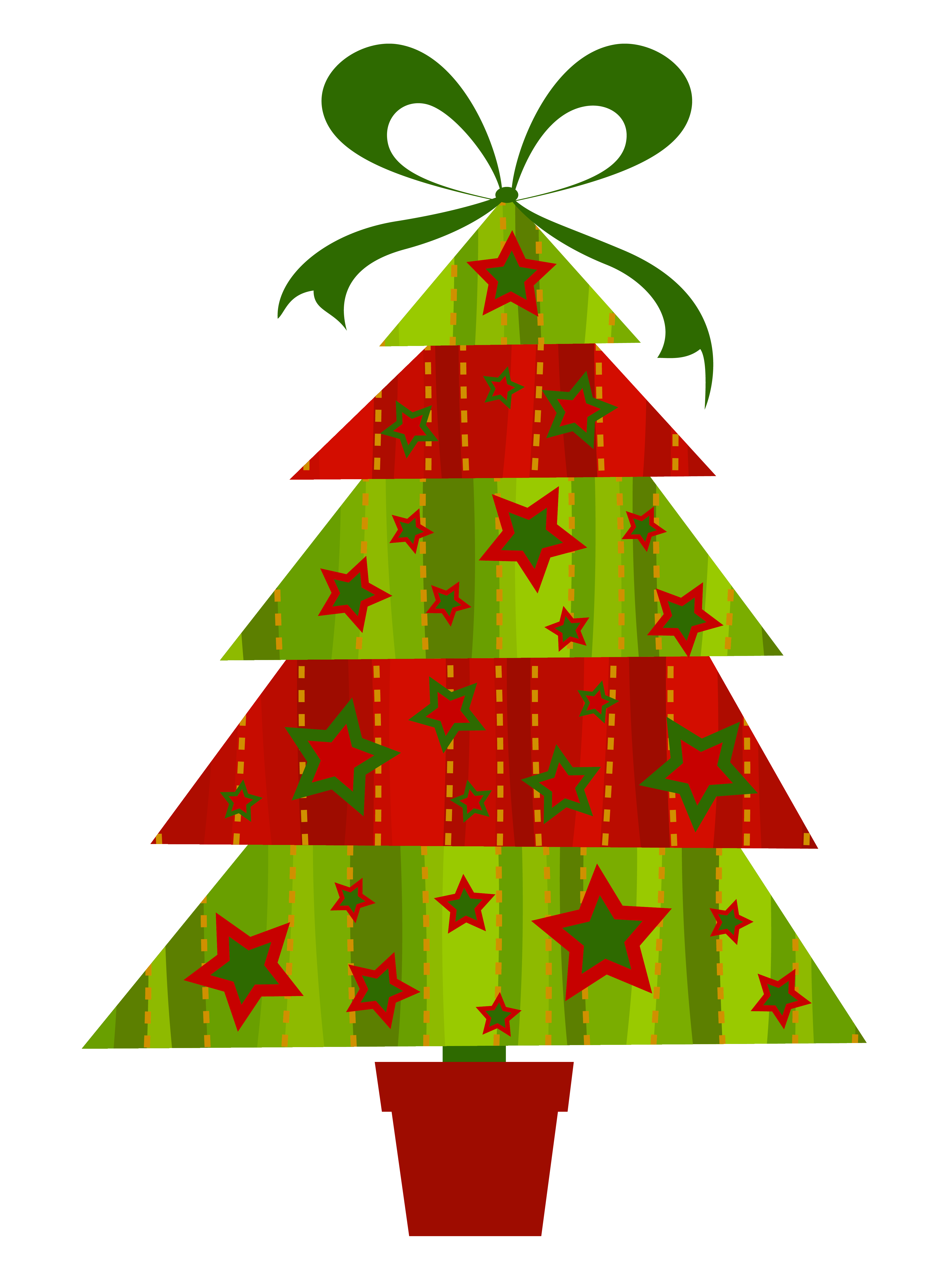 Modern christmas tree png. Transparent clipart gallery view