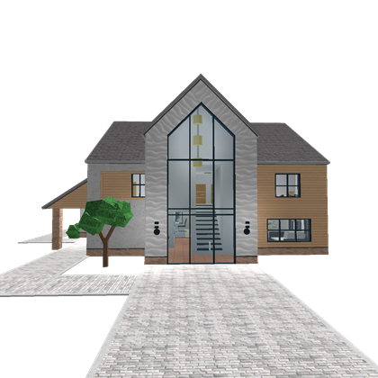 Modern home png. Roblox