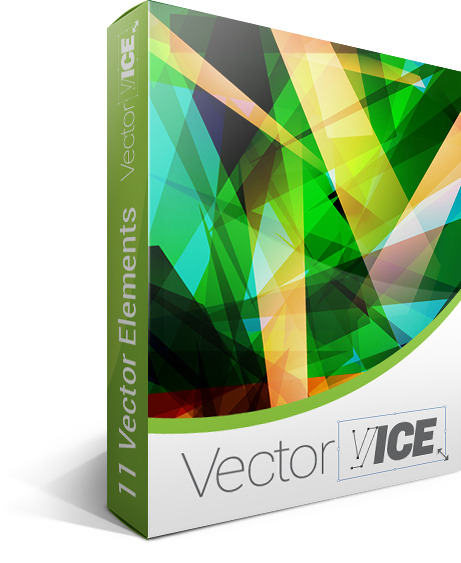 Modern vector prism. Abstract background pack download