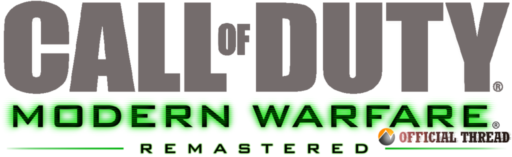 call of duty 4 remastered png