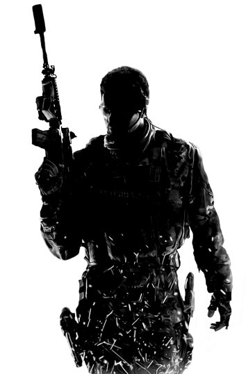 Transparent soldier modern. Download hd call of