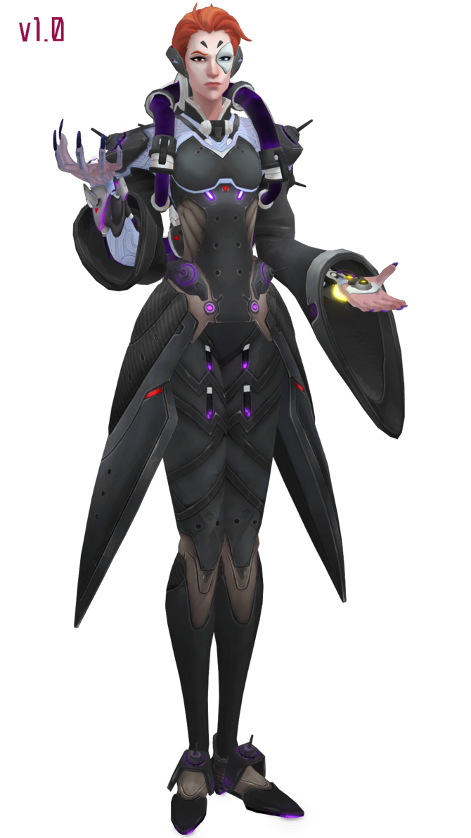Moira overwatch png. Mmd download by togekisspika