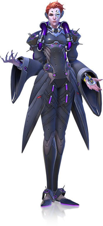 Moira transparent. Overwatch guide character