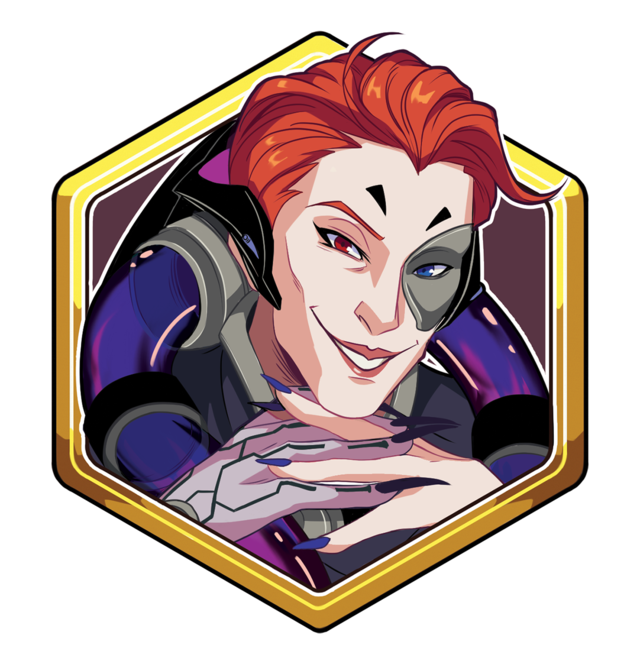 moira transparent portrait