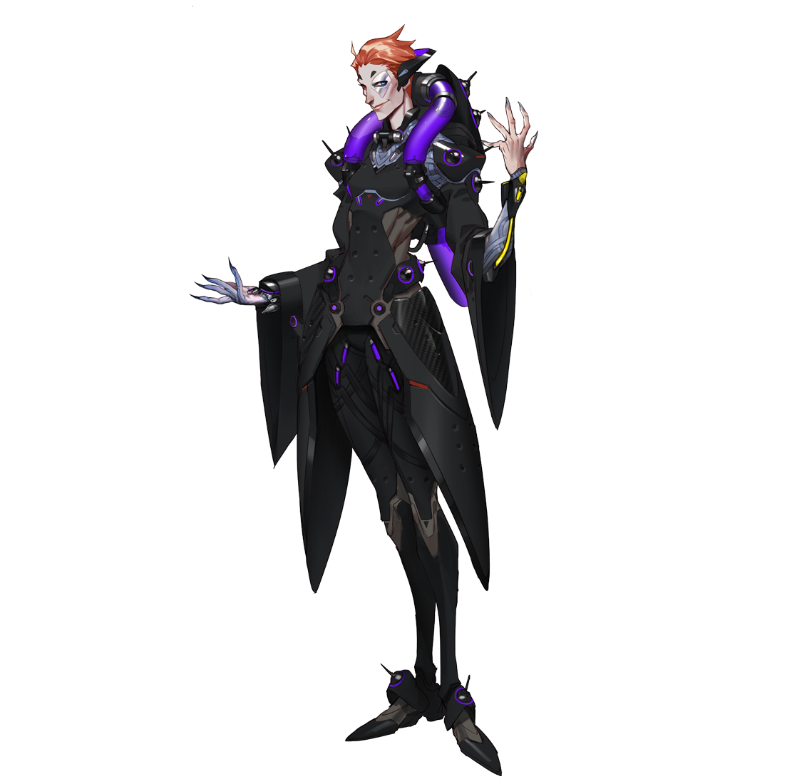 Moira transparent hand. Overwatch tempo storm