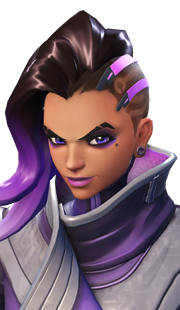 Moira transparent portrait. Sombra overwatch guide