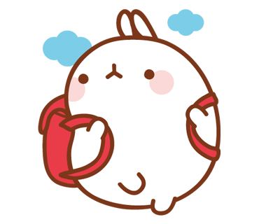 Molang transparent. Pinterest kawaii and doodles