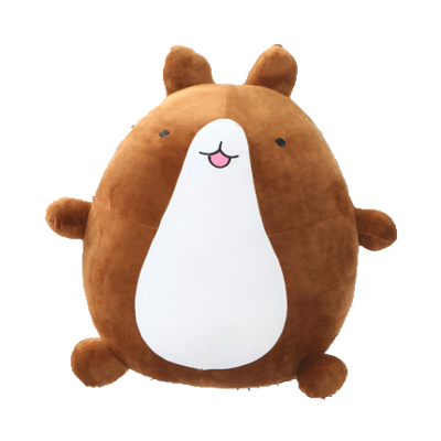Molang transparent brown. Rabbit plushie yumeni pinterest