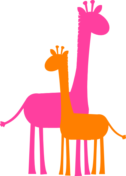vector giraffe svg