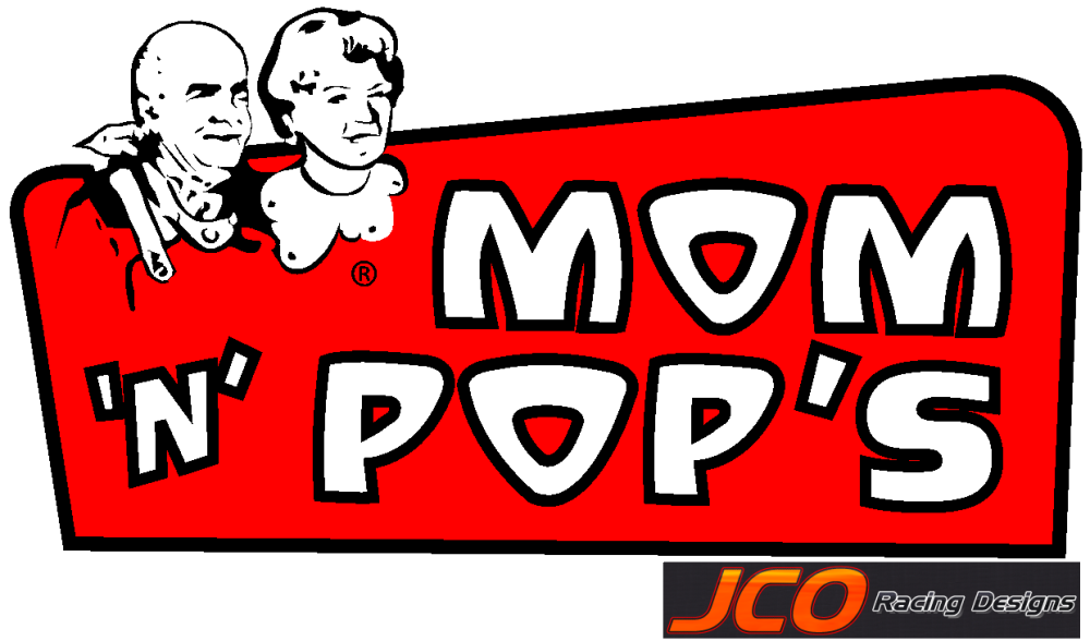 Mom and pop png. Jcoracing designs m logos
