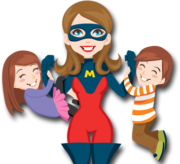 Mom babys free icons. Mother clipart superhero vector royalty free