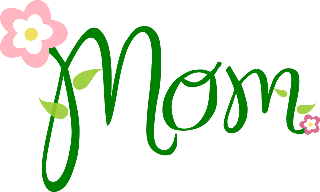 Mom and in words. Word clipart dad graphic