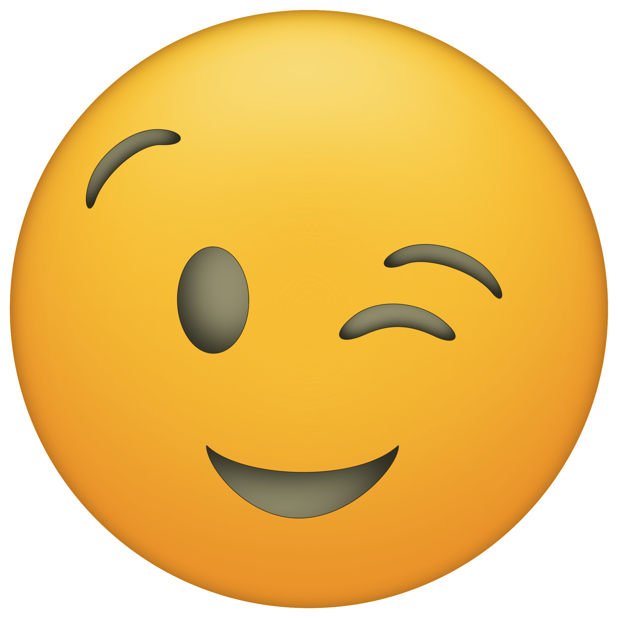 Winky face png. Www papertraildesign com wp
