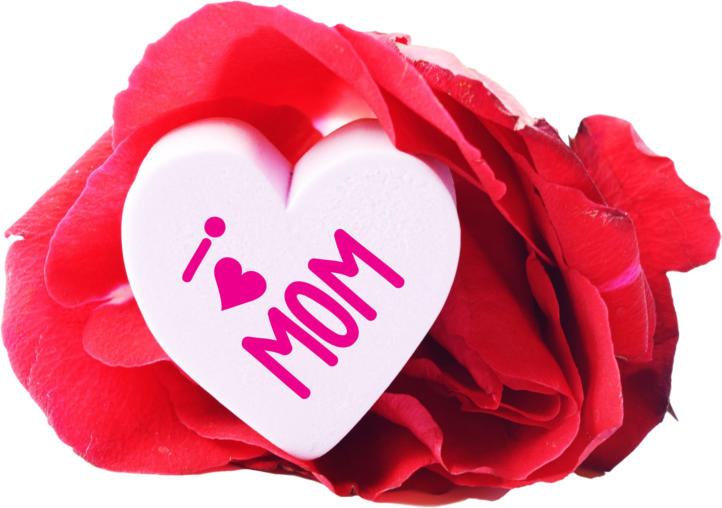 I love mom png. Free heart and a