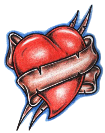 Mom heart tattoo png. Tattoos transparent images pluspng