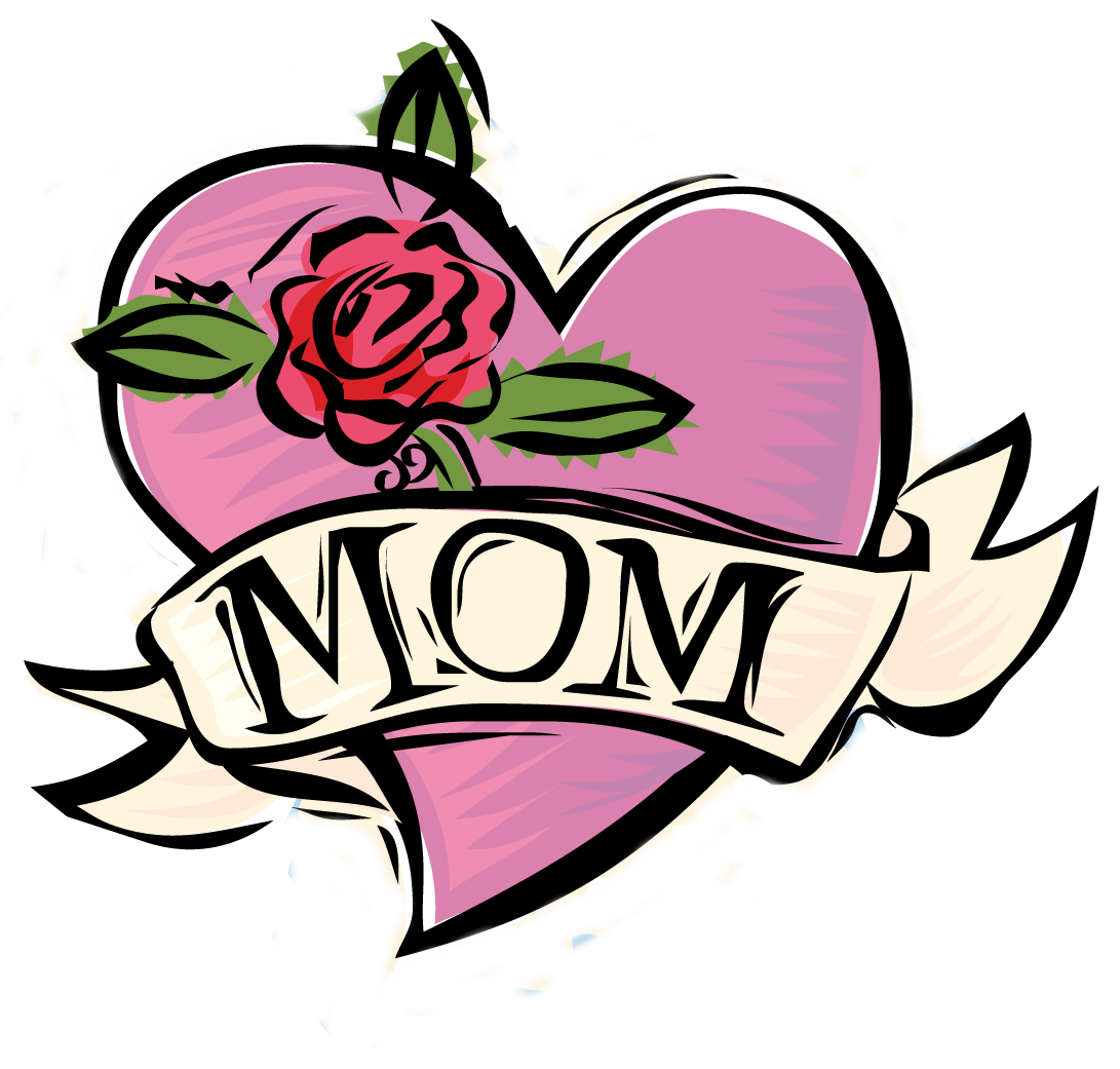 Mom heart tattoo png. Clipart download techflourish collections