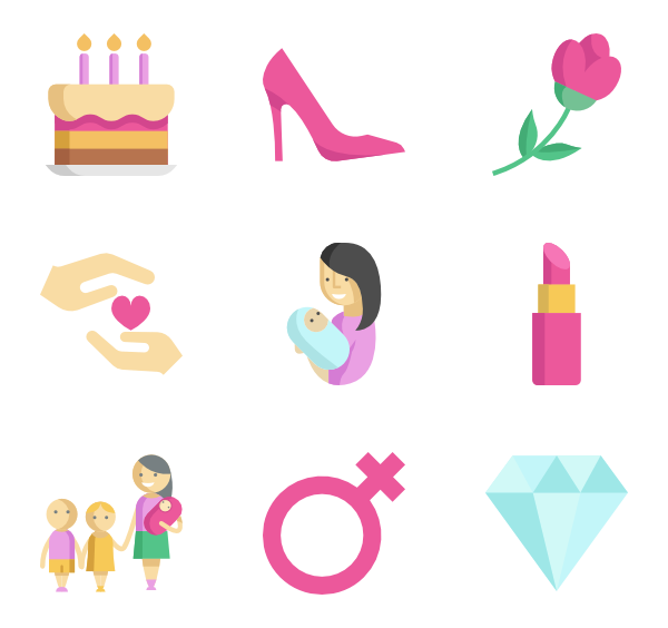 Mom vector png. Day icon packs