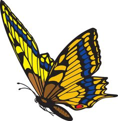 Monarch clipart in flight. Butterfly png image cliparts