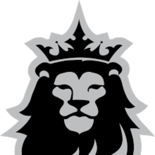 Monarch clipart lion. Cropped head png independent