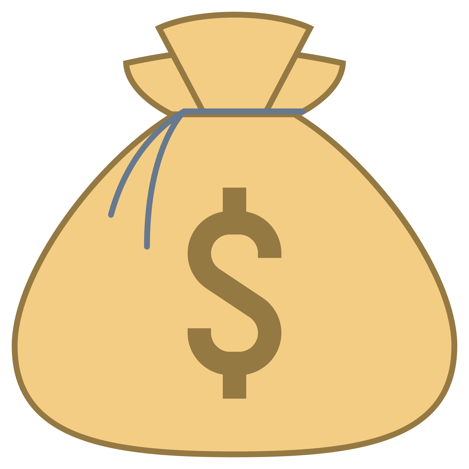 Emojis drawing money bag. Computer icons clip art