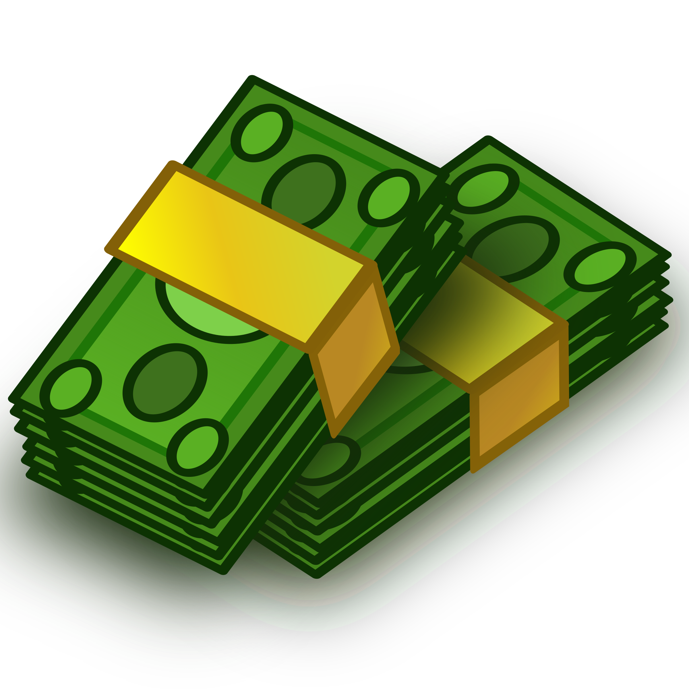 Money cartoon png. Clipart wads big image
