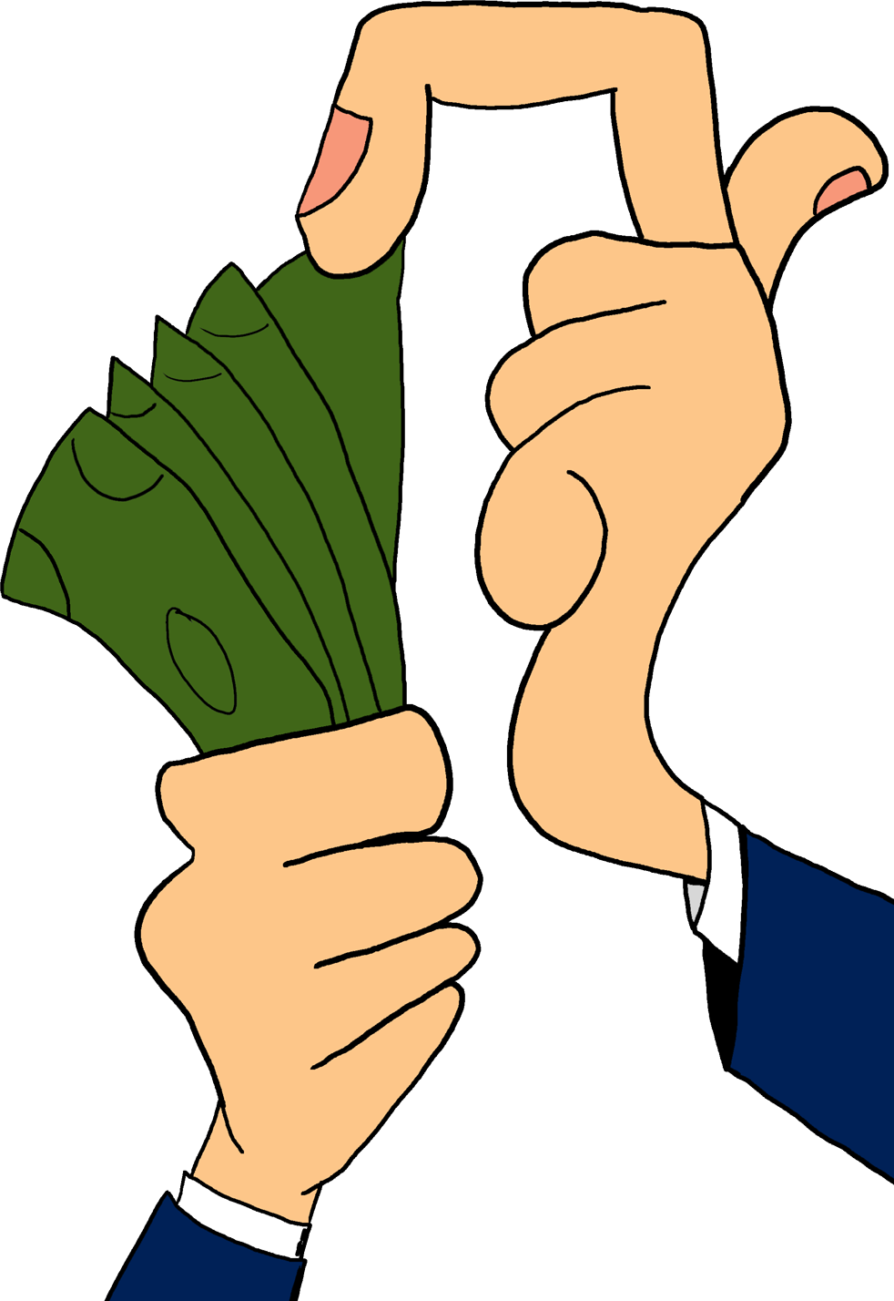 Money clipart cartoon. Clip art of typegoodies