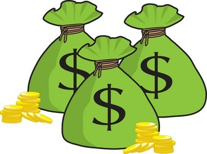 money clipart cartoon