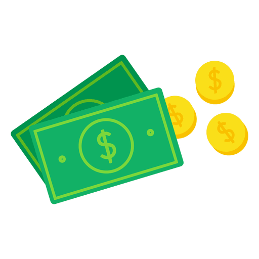 Money vector png. Falling illustration download icon