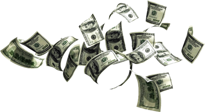 Money falling from sky png. Psd images clip