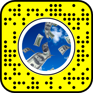 Money falling from sky png. The snaplenses