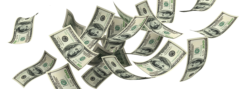 Money in the air png. Falling images free download