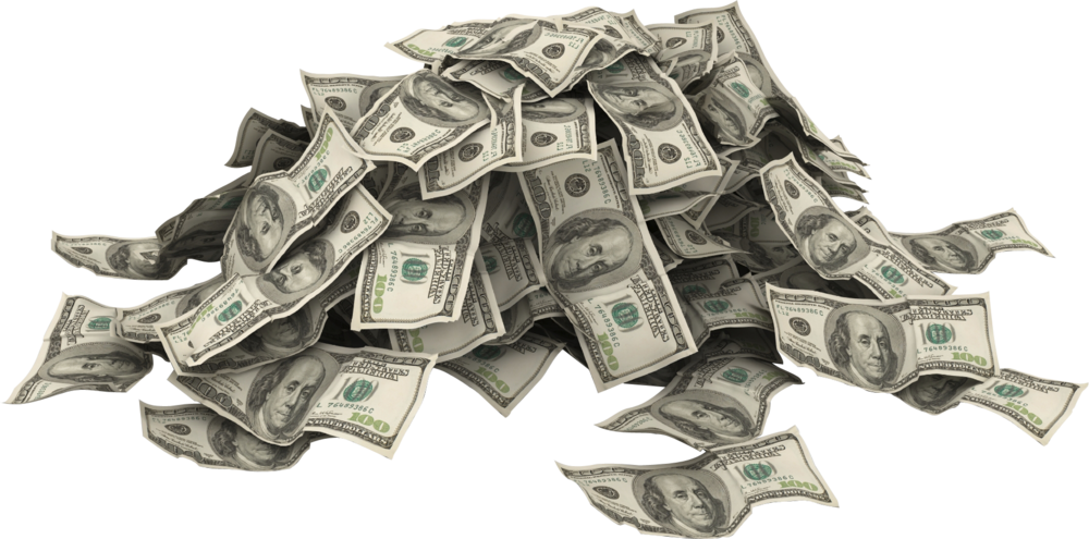 Money pile png. Of psd official psds