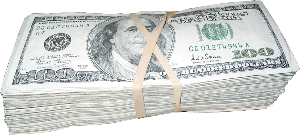 Money stack png. Psd official psds