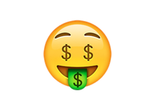 Money tongue emoji png. The best new iphone