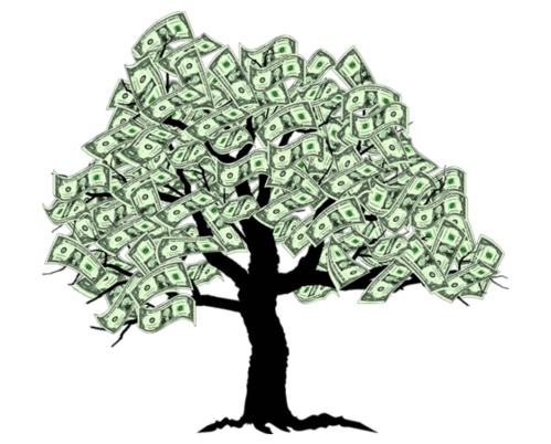 Money tree png. System view specifications details