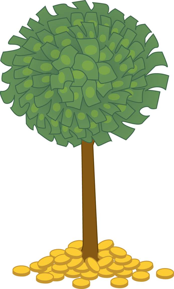 Money tree png. By colormist on deviantart