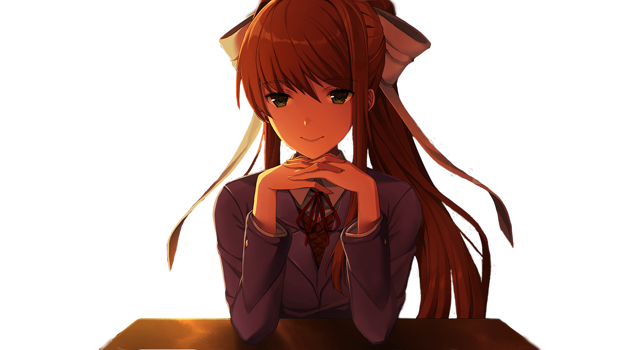 Monika face png. Ever wanted to put