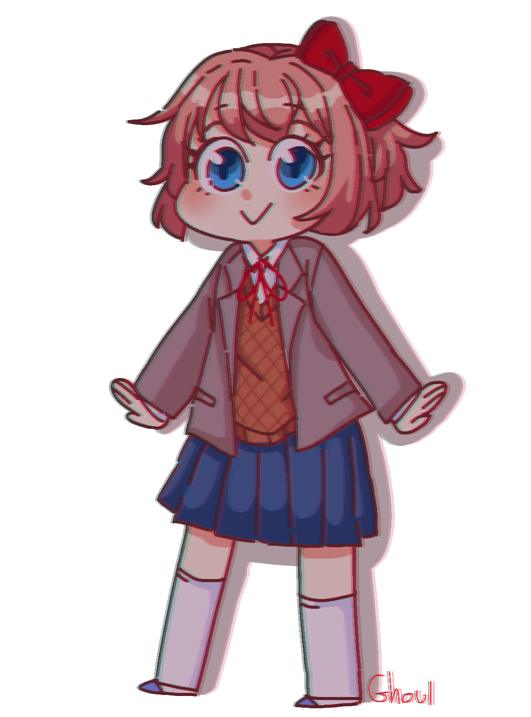Monika png doki doki. Pin by moon child
