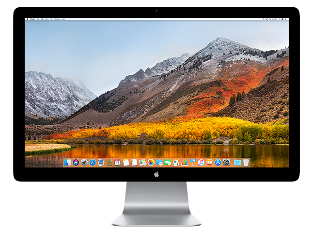 Monitor apple png. Displays official support
