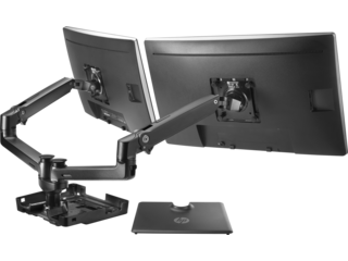 Monitor clip holder. Mounts stands hp official