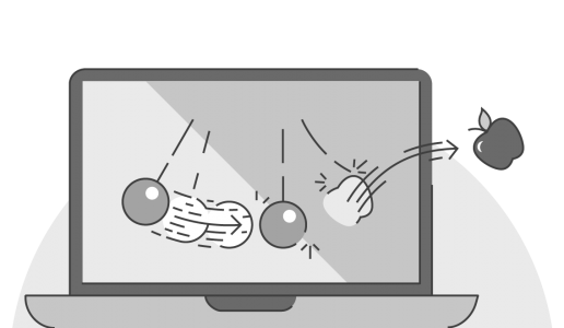 Monitor drawing animated. Powerpoint pendulums hidden pivots