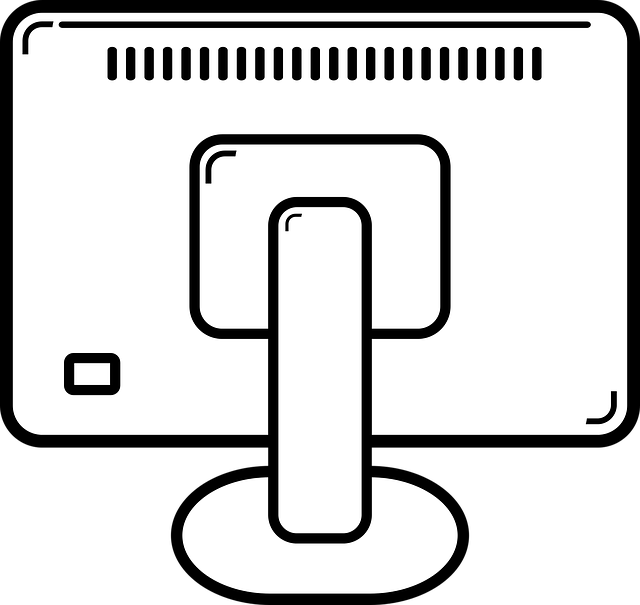 Monitor drawing computer png. Free photo back simple