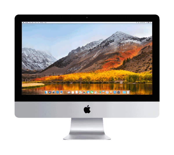 Imac transparent gen. Simply mac
