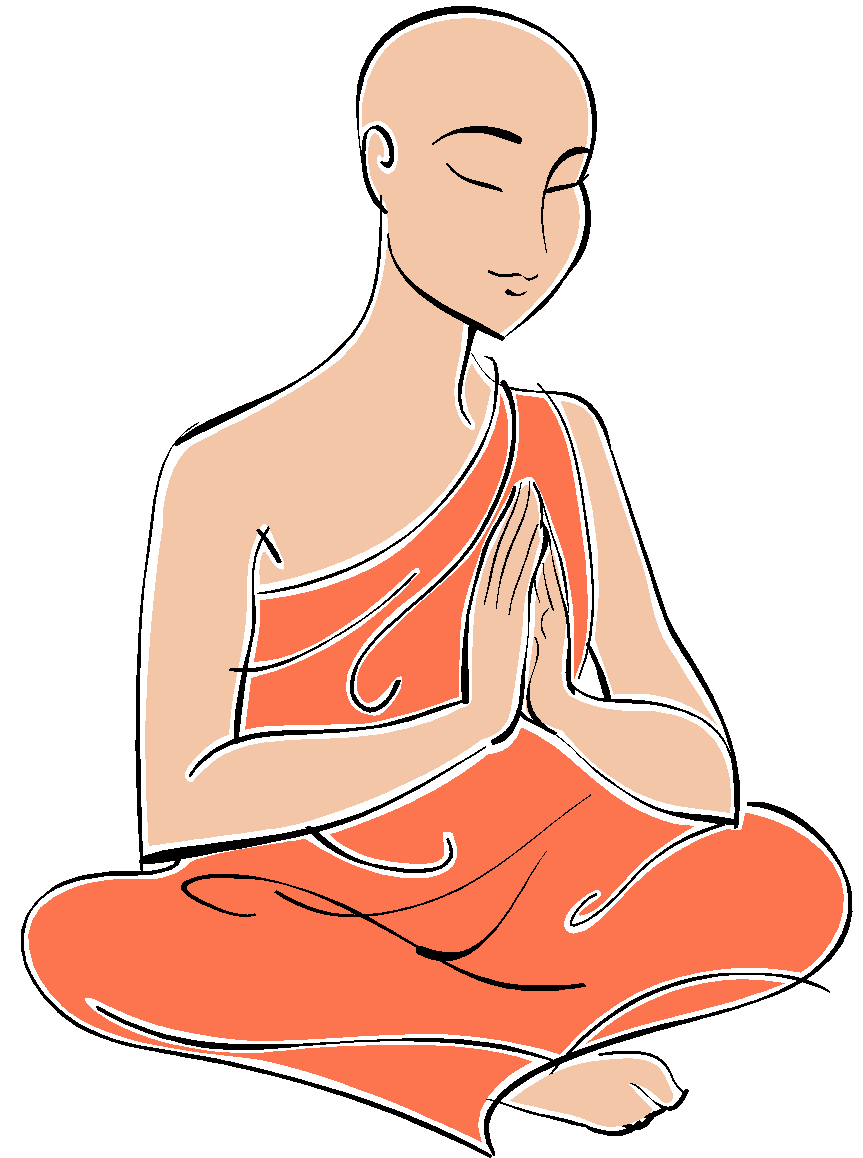 Monkas clipart buddhist priest. Monks and nuns gcse