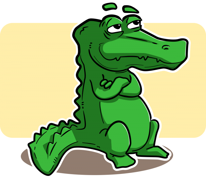 Monkas clipart cartoon. Crocodile png vector psd