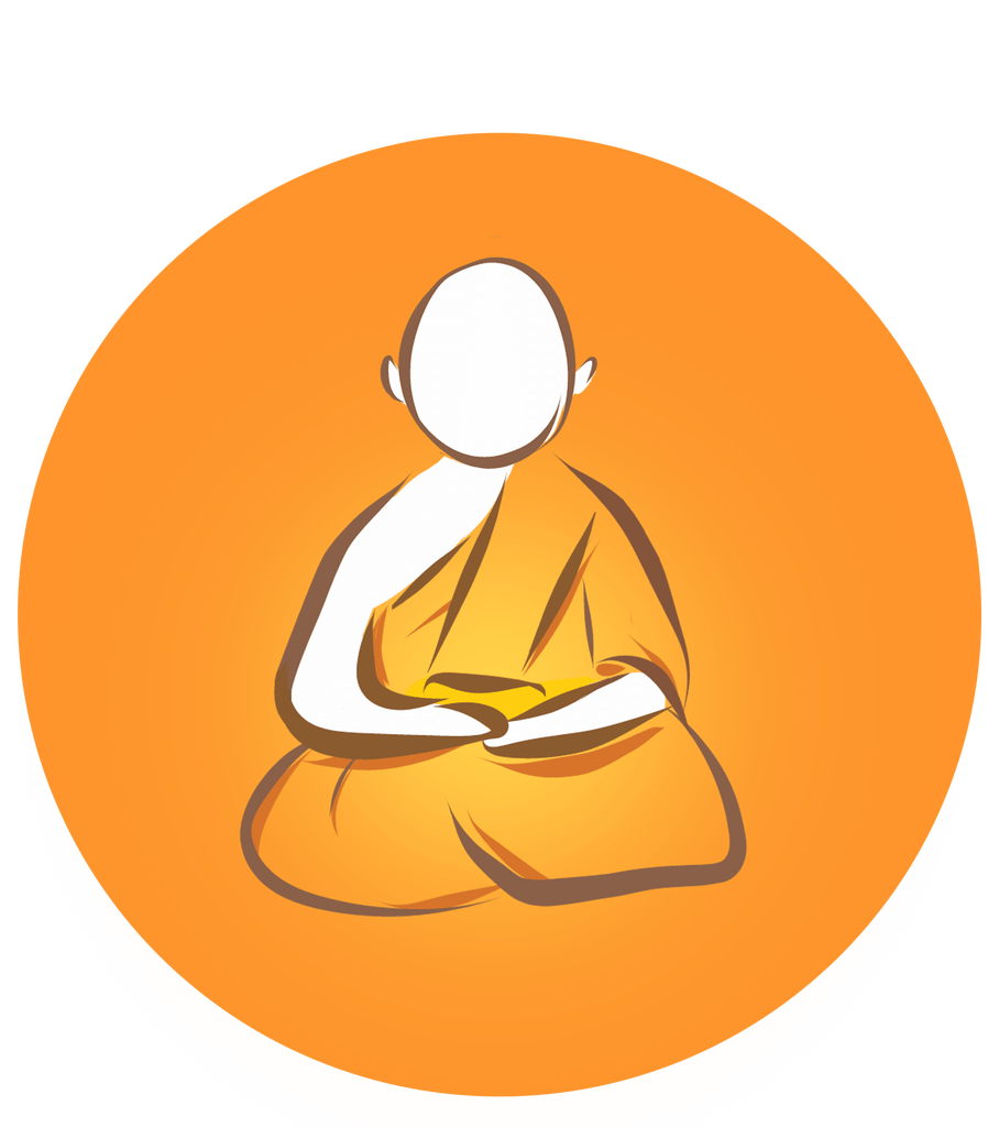 Monkas clipart monk meditation. Why do thai monks