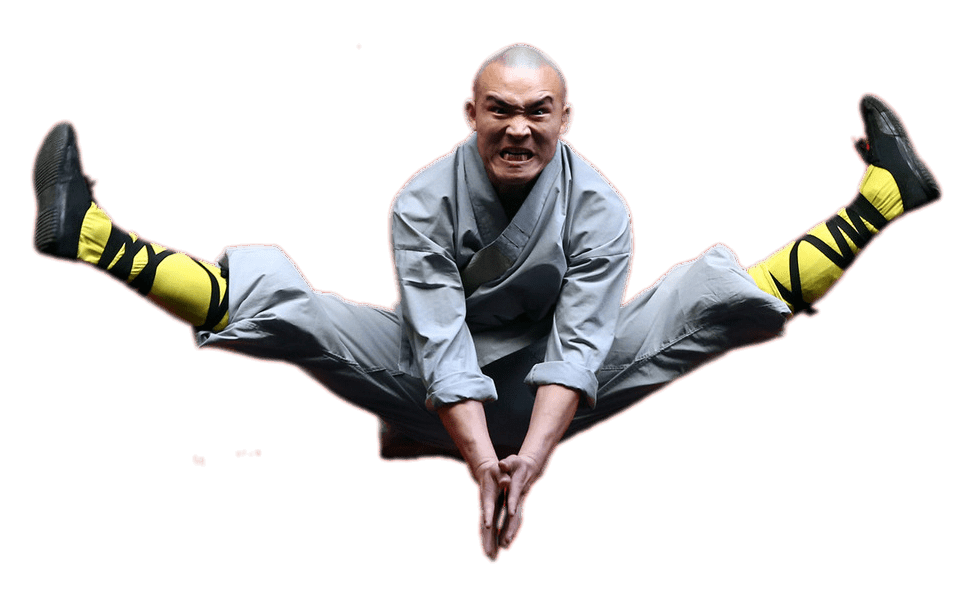 Monkas clipart monk shaolin. Two legs straight transparent