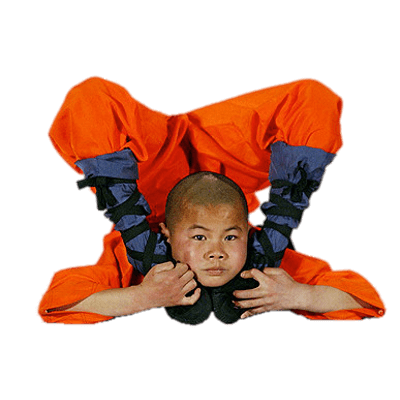 Monkas clipart monk shaolin. Monks tricky pose transparent