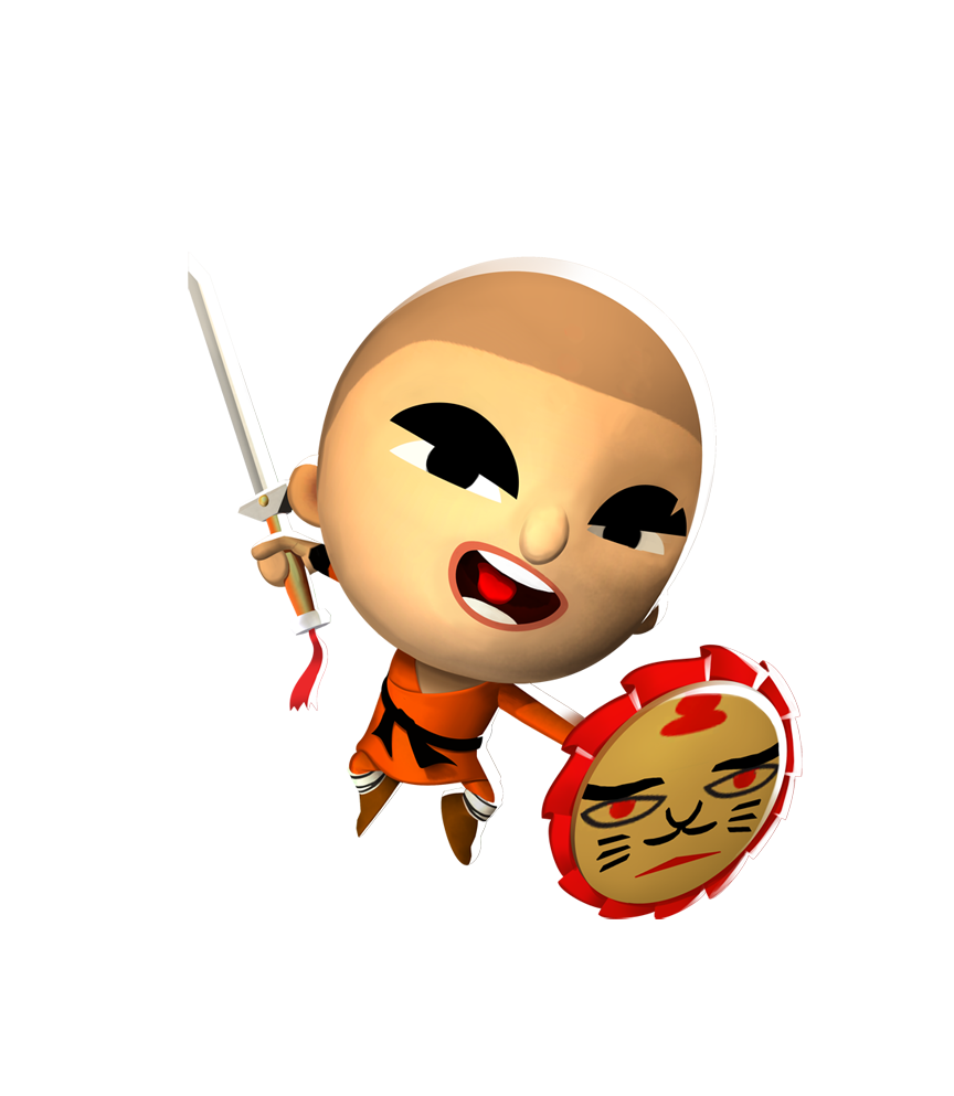 Monkas clipart monk shaolin. Wu the world of