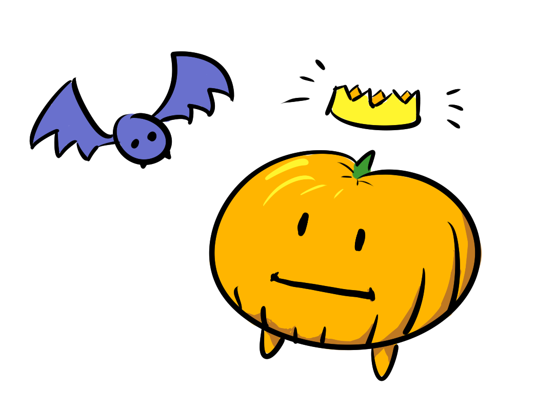 Monkas clipart peaceful person. Pumpking by sophie houlden
